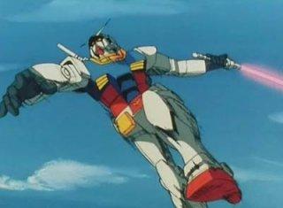 Mobile Suit Gundam: un'immagine tratta dall'anime