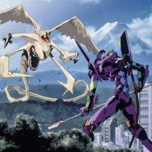 Neon Genesis Evangelion: una scena dell'anime