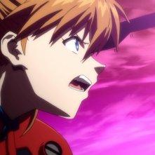 Neon Genesis Evangelion: una scena tratta dall'anime