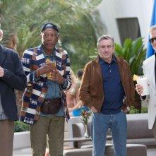 Last Vegas: Michael Douglas, Morgan Freeman, Kevin Kline e Robert De Niro si preparano per un addio al celibato molto speciale