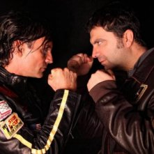 Rabbia in pugno: Stefano Calvagna e Claudio Del Falco in una foto promozionale