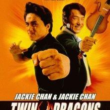 Twin Dragons: la locandina del film