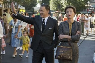Saving Mr. Banks: Tom Hanks ed Emma Thompson nella prima immagine del film