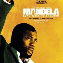 Long Walk to Freedom: character poster di Idris Elba nei panni di Nelson Mandela