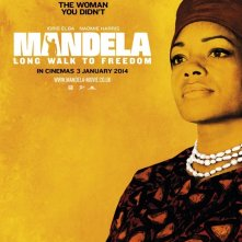 Long Walk to Freedom: character poster di Naomie Harris nei panni di Winnie Mandela