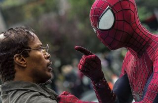 The Amazing Spider-Man 2: Andrew Garfield versus Jamie Foxx