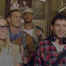 Body Language: i cinque ragazzi protagonisti del film in una scena