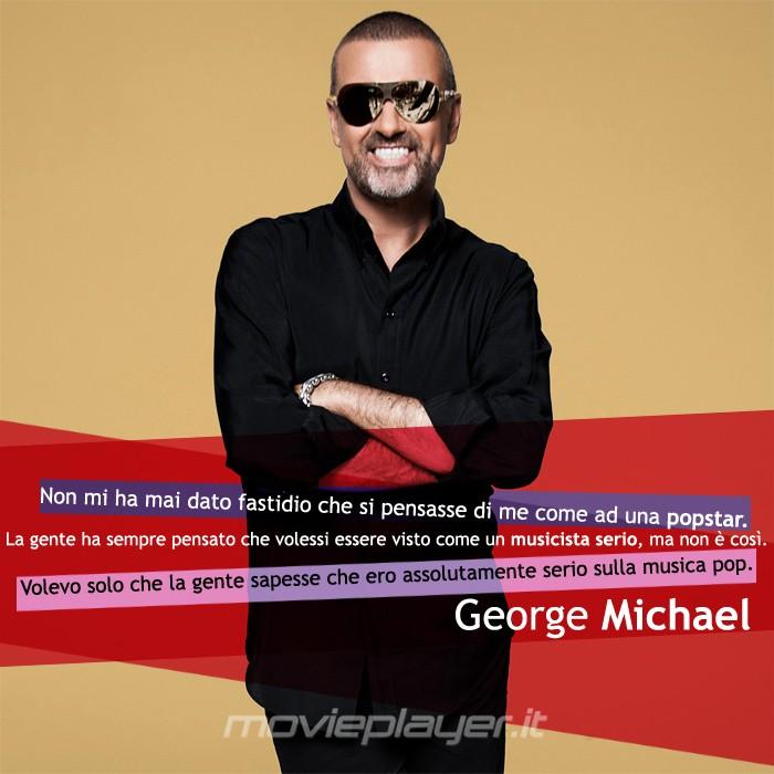 George Michael - la nostra e-card con una frase del cantante, condividila sui social network o dove vuoi!