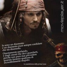 Johnny Depp ne La maledizione de la prima luna - la nostra ecard con una frase del film da condividere!