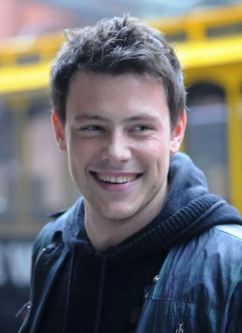 L'attore canadese Cory Monteith