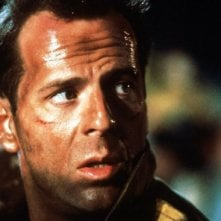 Trappola di cristallo (Die Hard, 1988) - Bruce Willis in una sequenza