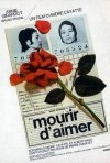 Morire d'amore: la locandina francese