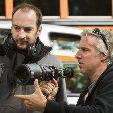 Starbuck: il regista Ken Scott in una foto dal set