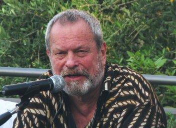 Un primo piano di Terry Gilliam, durante l'incontro del premio Fiesole 2013