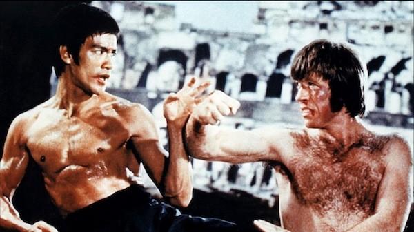 Bruce Lee combatte con Chuck Norris ne L'urlo di Chen terrorizza anche l'Occidente