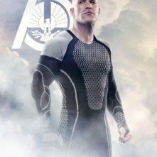 Hunger Games - La ragazza di fuoco: character poster per Brutus (Bruno Gunn), District 2