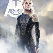 Hunger Games - La ragazza di fuoco: character poster per Cashmere (Stephanie Leigh Schlund), District 1