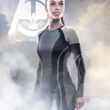 Hunger Games - La ragazza di fuoco: character poster per Enobaria (Meta Golding), District 2