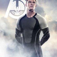 Hunger Games - La ragazza di fuoco: character poster per Gloss (Alan Ritchson), District 1