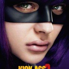 Kick-Ass 2: character poster italiano di Chloe Moretz nei panni di Hit Girl