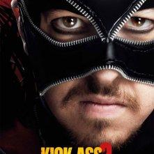 Kick-Ass 2: character poster italiano di Christopher Mintz-Plasse nel ruolo di Motherfucker