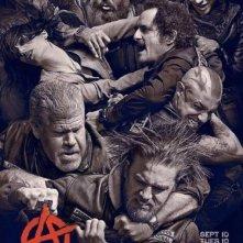 Sons of Anarchy: un poster della stagione 6 della serie