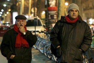 Sangue: Pippo Delbono cammina con Giovanni Senzani