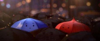 The Blue Umbrella: una scena del corto Pixar
