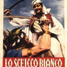 Il poster di Lo sceicco bianco
