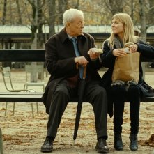 Mr. Morgan's Last Love: Michael Caine e Clémence Poésy in una scena del film