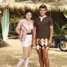Teen Beach Movie: Grace Phipps e Garrett Clayton in una foto promozionale