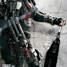Edge of Tomorrow: il character-poster Comic-con dedicato ad Emily Blunt