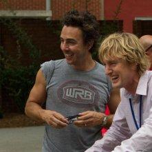Gli stagisti: Owen Wilson e Shawn Levy sul set