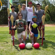 Gli stagisti: Owen Wilson e Vince Vaughn in un'immagine promozionale con Josh Brener, Dylan O'Brien, Tobit Raphael e Tiya Sircar