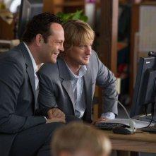Gli stagisti: Owen Wilson e Vince Vaughn in un'immagine tratta dalla commedia