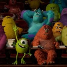 Monsters University: Mike fa il saputello a lezione in una scena