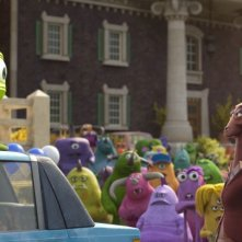 Monsters University: un'immagine tratta dal film animato della Disney