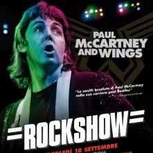 Paul McCartney & Wings: Rockshow: la locandina del film