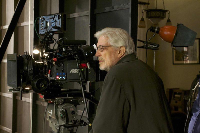 Che strano chiamarsi Federico: il maestro Ettore Scola sul set del film su Federico Fellini