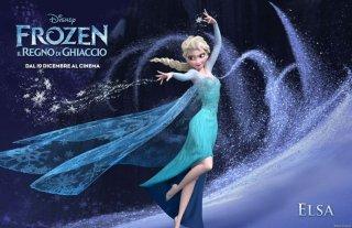 Frozen - Il regno di ghiaccio: character poster dedicato alla regale e magica Elsa