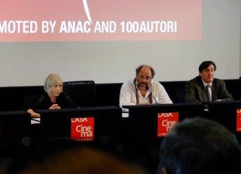 Venezia 2013: Lidia Ravera, Giorgio Gosetti e Angelo Barbagallo presentano il programma delle Giornate degli Autori.