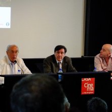Venezia 2013: Roberto Barzanti, Giorgio Gosetti e Sylvain Auzou presentano il programma delle Giornate degli Autori.