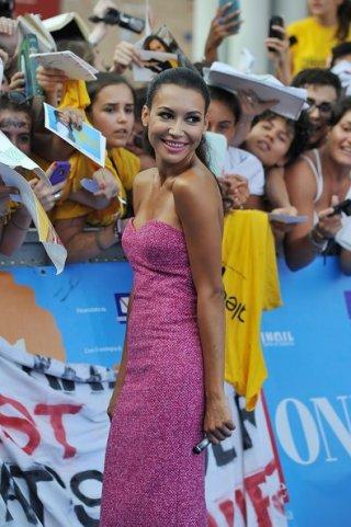 Naya Rivera insieme ai fan di Giffoni Experience 2013