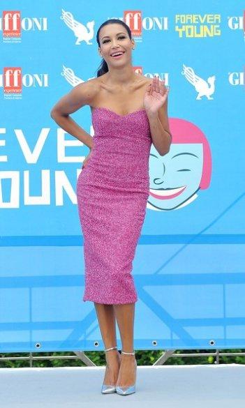 Naya Rivera sensuale a Giffoni Experience 2013