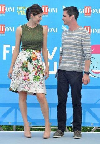 Percy Jackson e gli dei dell'olimpo: Il mare dei mostri: Logan Lerman e Alexandra Daddario a Giffoni Experience 2013