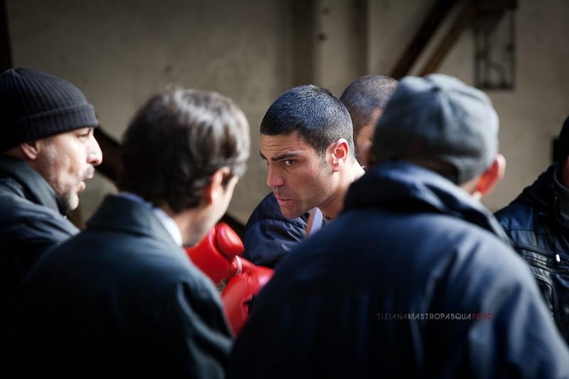 Salvatore Ruocco Durante Una Scena Di Take Five Film Di Guido Lombardi 281426