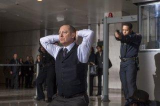The Blacklist: James Spader in una scena della serie