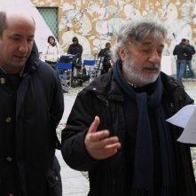 L'Intrepido: Antonio Albanese sul set del film con Gianni Amelio