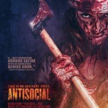 Antisocial: la locandina del film