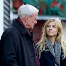 Mr. Morgan's Last Love: Michael Caine e Clémence Poésy in una scena